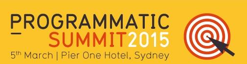 Programmatic Summit 2015