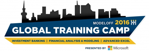 ModelOff Global Training Camp London 2016