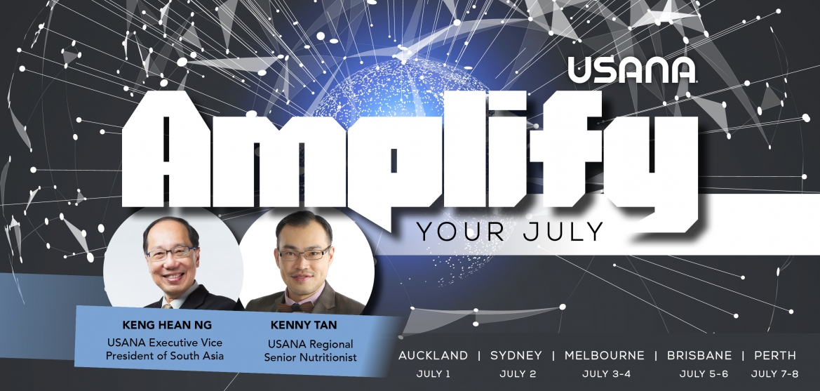 USANA - Auckland - Amplify your July