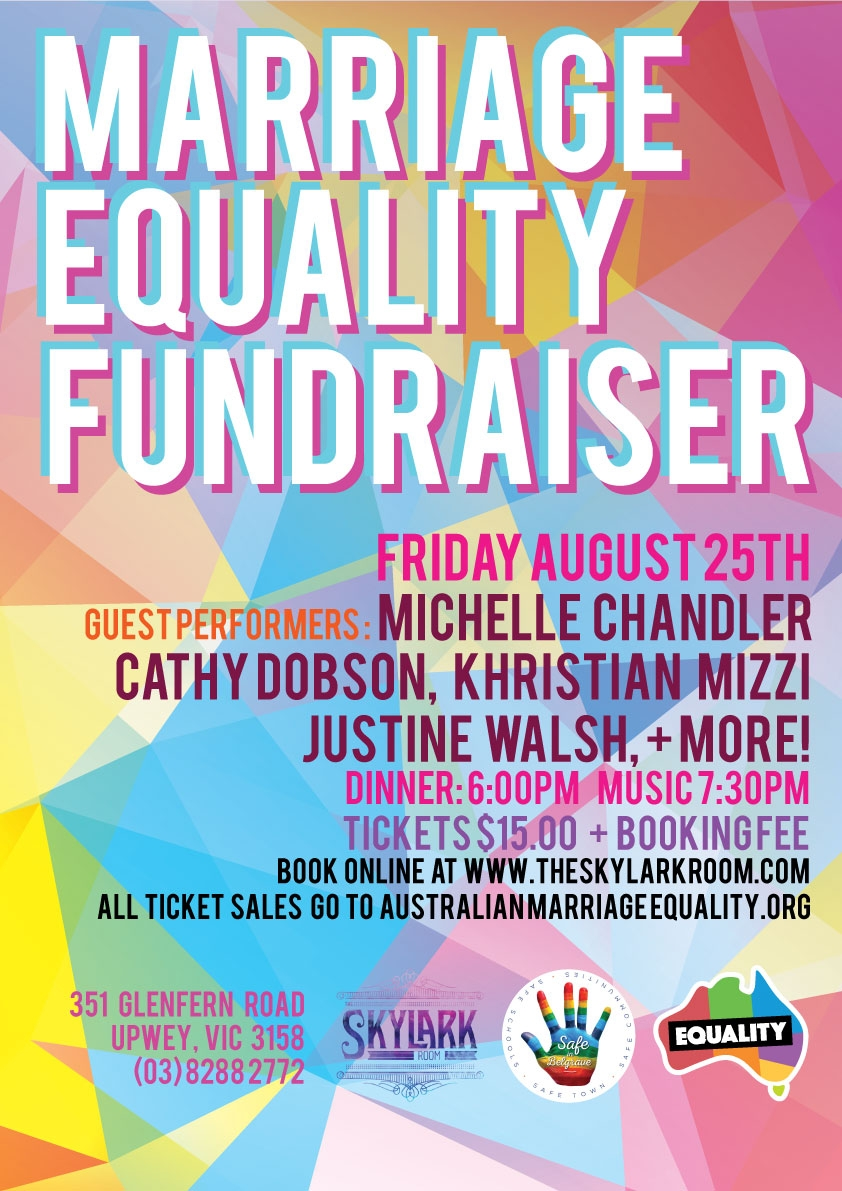 Marriage Equality Fundraiser