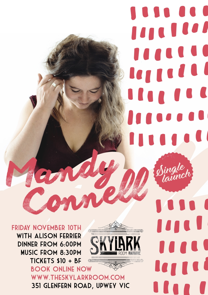Mandy Connell single launch + Alison Ferrier
