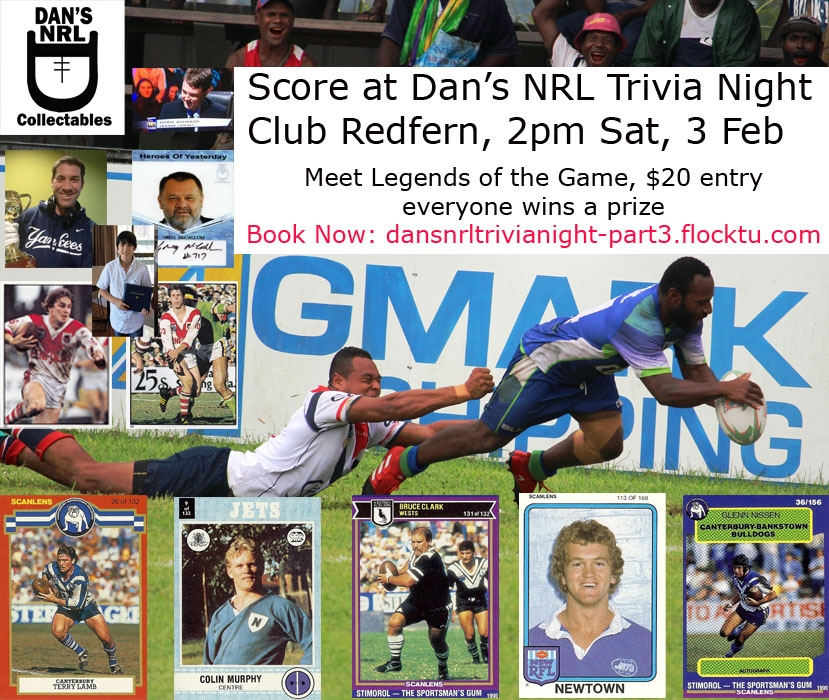 Dan's NRL Trivia Night - Part 3