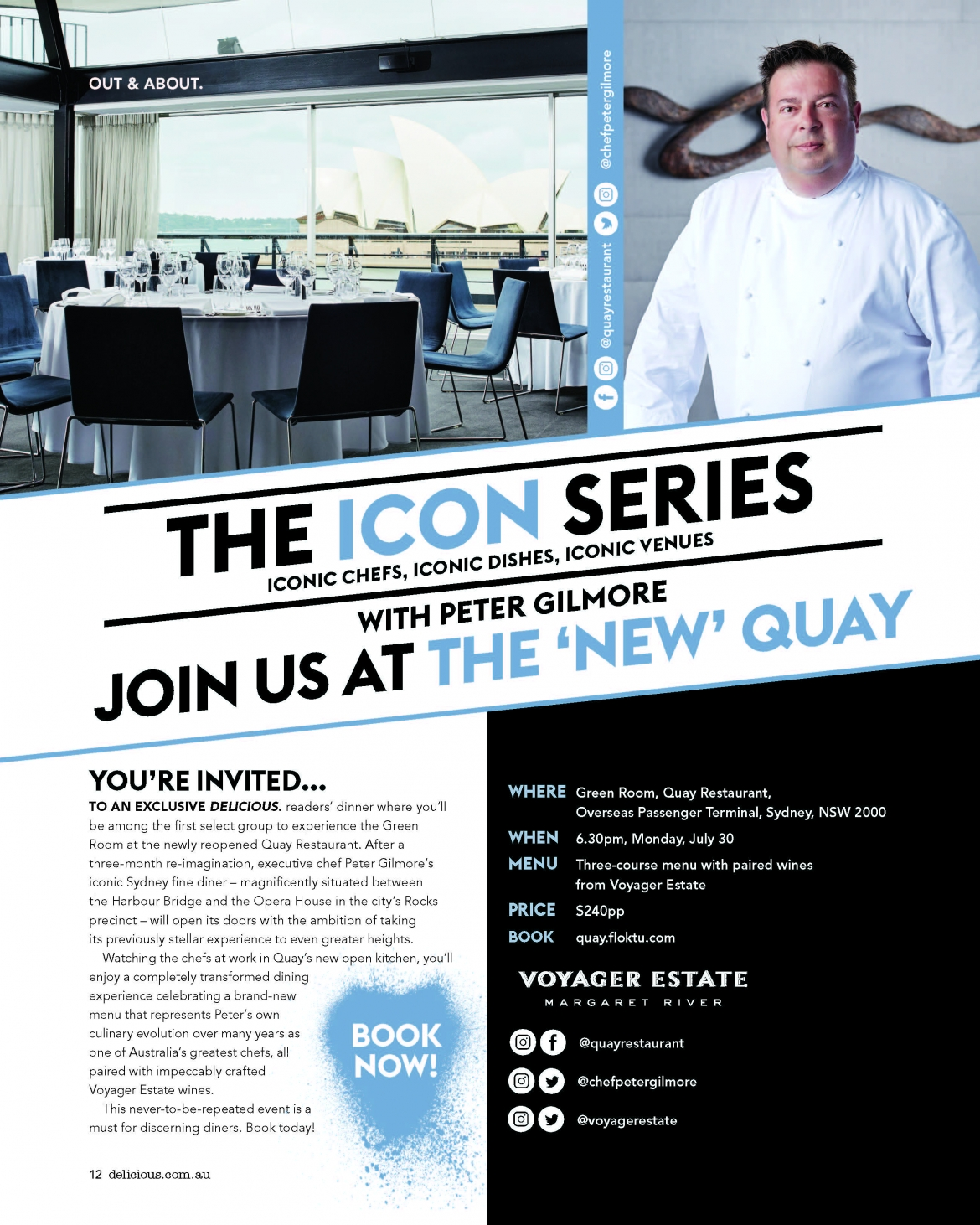 ICONS series @ Quay