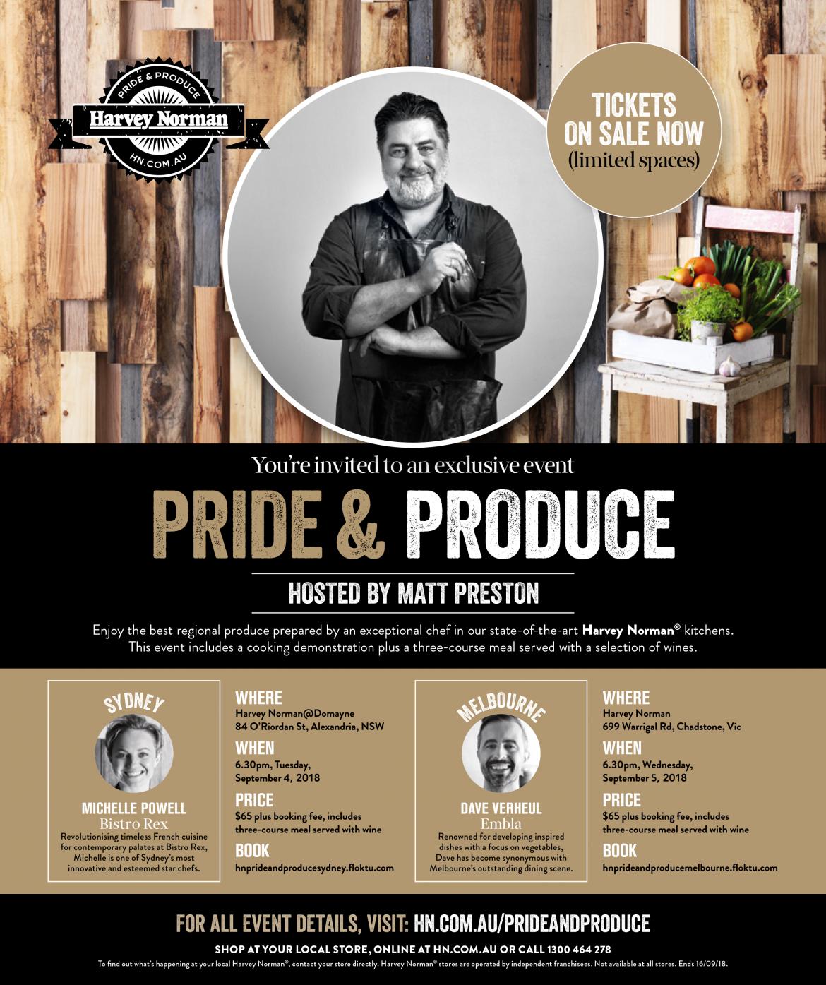 Pride & Produce - Melbourne