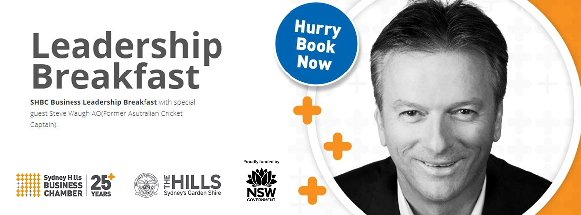 Leadership Breakfast with Special Guest Steve Waugh AO