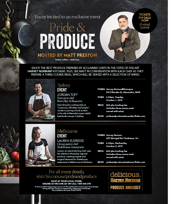 Pride & Produce @ Harvey Norman Chadstone