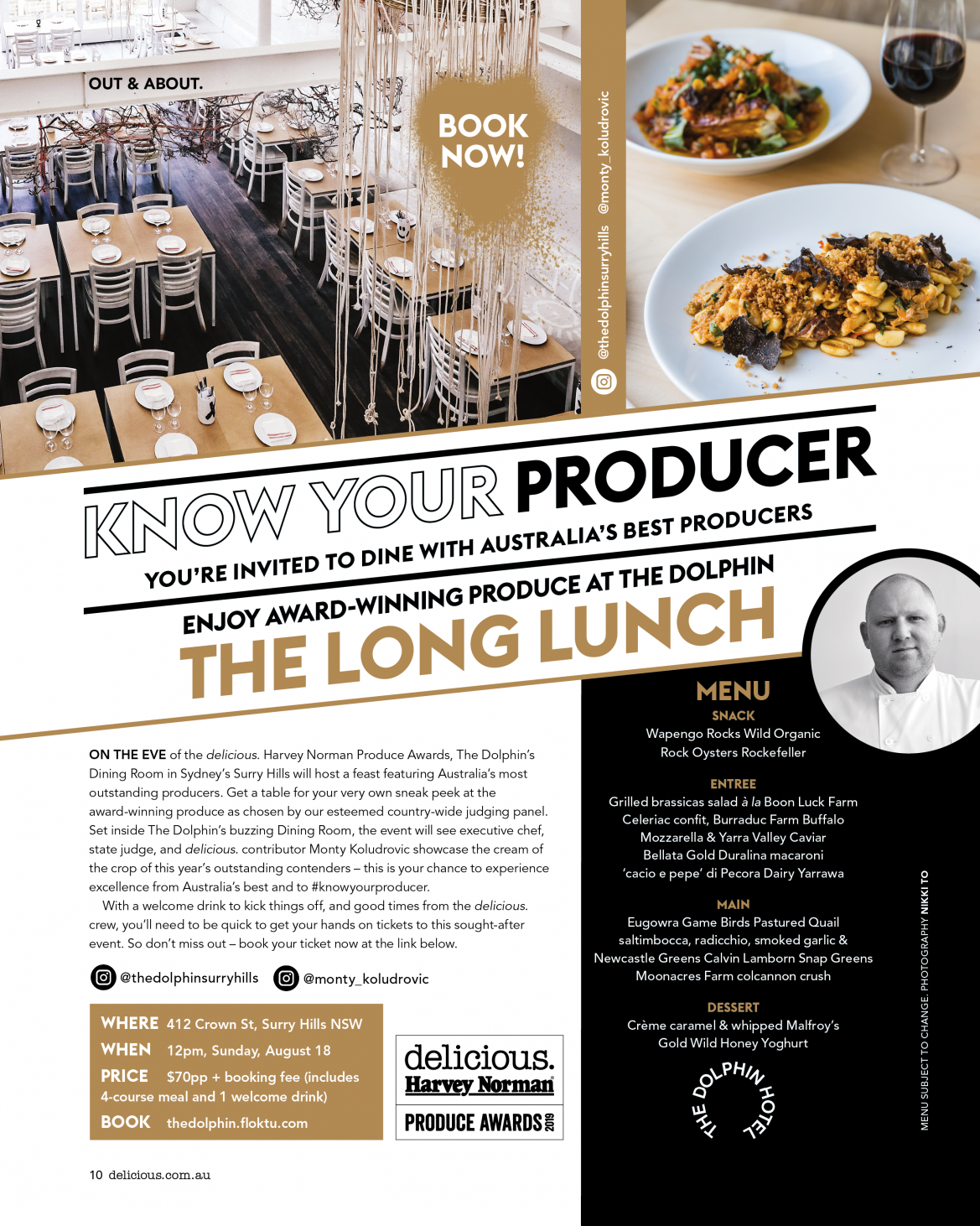 Know Your Producer - The Long Lunch